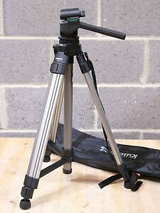 Giottos IK324 Bazooka Digital Video Tripod with 3-Way Pan/Tilt Head Case - 232