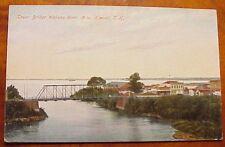 1910's Lower Bridge Wailuku River Hilo Territory of Hawaii