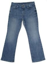 Eddie Bauer Womens Jeans Natural Boot Cut Mid Rise Denim Size 6P 30x30