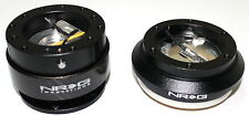 NRG Steering Wheel Short Hub Adapter Quick release Combo CF Acura 94-01 Integra