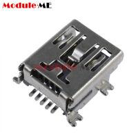 10Pcs Mini USB SMD 5 Pin Female Mini B Socket Connector Plug M