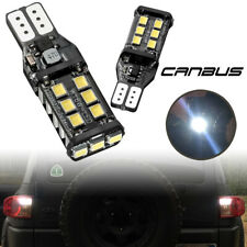 Pair Bright White Canbus LED Bulb For Car Backup Reverse Light 912 921 T15 W16W