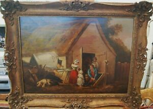 """""""Morning or the Higlers Preparing for Market"""" by George Morland"""