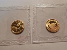 2007 Chinese 1/20 ounce Gold Panda 20 Yuan .999 coin in Sealed plastic holder