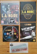 L.A NOIRE PS3 / complet avec goodie / cd sans rayure/envoi gratuit,protégé,suivi