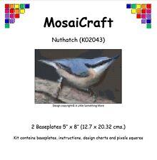 MosaiCraft Pixel Craft Mosaic Art Kit 'Nuthatch' Pixelhobby