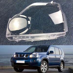 Pair For Nissan X-Trail 2007~2011 Headlight Cover Car Headlamp Lens Auto Shell
