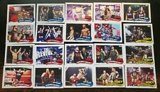 2018 Topps WWE Heritage Trading Cards Tag Team & Stables Complete Insert Set