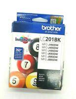 Brother- Genuine Standard Yield Black Ink Cartridge, LC201BK
