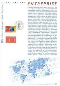 FDC 1e jour Timbre sur document philatélique - Entreprise 8.11.2002