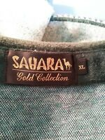 SAHARA CASINO Gold Collection  Multicolor Polo Shirt Size XL