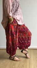 Women Harem Pants baggy Bohemian Boho Hippie Nepali Yoga loose Cotton Trousers
