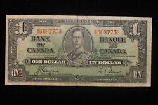 1937 Canada. ($1) One Dollar. Series T/N. Coyne-Towers.