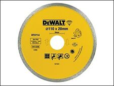 DEWALT Diamond Tile Blade 110 x 20mm DEWDT3714QZ