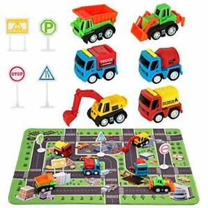 Construction Toys Site Playmat 2 3 4 5 6 Year Old Boys Gift For Kid Toddler New