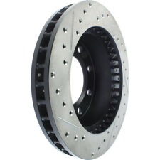 Disc Brake Rotor-Sport Drilled/Slotted Disc Front Left Stoptech 127.66042L