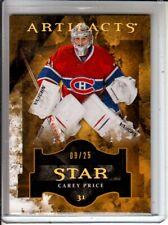 2011-12 Artifacts Spectrum #139 Carey Price Star /25
