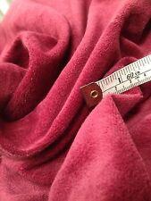 14 Mts Designer Curtain Fabric Prestigious Rich Berry Pink Cotton Velvet