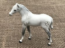 BESWICK HORSE PONY FOAL LARGER THOROUGHBRED MODEL No 1813 DAPPLE GREY GLOSS RARE