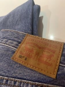 Levis 501 S Straight Jeans Low Rise