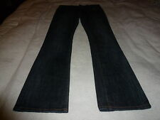 ED HARDY FLARE BLUE JEANS.... WOMEN'S SIZE: ( 27 ) VERY NICE LOOKING !