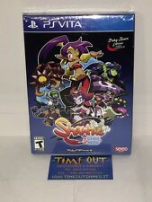SHANTAE 1/2 HALF GENIE HERO RISKY BEATS EDITION PS VITA NEW SEALED RARE