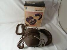 Vintage ROSS RE-240 Stereo Headphones original box