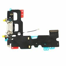 """iPhone 7 7G 4.7"""" Charging Dock Port Flex Cable Ribbon White Replacement Part OEM"""
