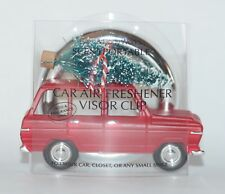 BATH & BODY WORKS CHRISTMAS ROAD TRIP TREE SCENTPORTABLE HOLDER CAR VISOR CLIP