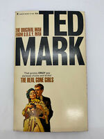 Real Gone Girls Ted Mark Vintage Mystery Sleaze PB ORGY Spy Erotica Sexy 70s O2