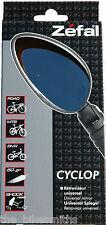 Zefal Cyclop Rear Veiw Mirror Bar End Road Hybrid MT Bike City Bicycle Universal