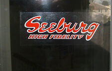 Seeburg High Fidelity Dome Decal