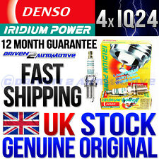 4x DENSO IQ24 IRIDIUM POWER FORD ESCORT Mk III (GAA) 1.6 RS Turbo 11.84>12.85
