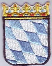 Escudo De Baviera Parche Parche,Para planchar,Baviera Abrigo of Brazo