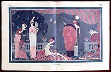 Femina Magazine Print ~ December 1, 1912 ~ Georges Lepape La Fete Persane
