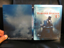 Abraham Lincoln Vampire Hunter 3D/2D Blu-Ray Steelbook [UK] Embossed Region BC
