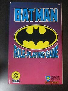 BATMAN ROLE PLAYINGGAME  - DC HEROES RPG Mayfair Games #299 (1989)