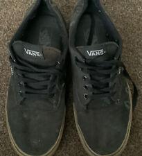 Vans Mens Shoes Black  Size 10