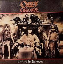 """Ozzy Osbourne """"No Rest For The Wicked"""" Promo flat suitable for framing Mint '88"""