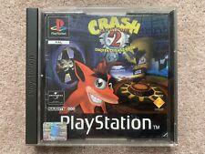 Crash Bandicoot 2 Cortex Strikes Back - Sony Playstation PS1 UK PAL (B)