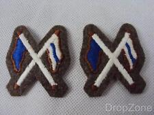 2 X Britisch- Militär Armee Fahrdienstleiter Qualifizierung Handel Anstecker/