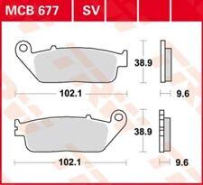 Bremsbelag Honda NC 750 D Integra ABS RC89A Bj. 2016 TRW Lucas MCB677