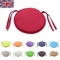 Convenient Circular Round  Tie-on Kitchen Dining Chair Seat Pad Cushions