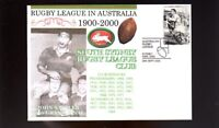 SOUTH SYDNEY RABBITOHS 1900-2000 RUGBY COVER, SATTLER