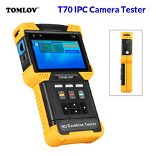4 Inch HD 1080P 4K IP CCTV Camera Tester Test Combine Monitor Security PoE RS485