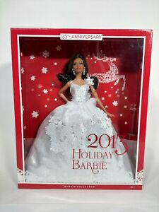2013 Holiday Barbie 25th Anniversary Barbie Collector New In Box