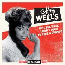 Mary Wells - Bye Bye Baby I Don't Want to Take a Chance [New CD] Bonus Tracks