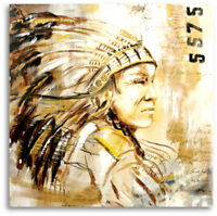 Atelier Culari Art Unikat Indianer Gemälde  Pop art Abstrakt Art Nr. 472