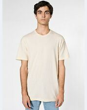 American Apparel BB401 Poly Cotton Medium Cream Creme Beige Natural T-Shirt