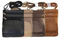 Women's Genuine Leather Messenger Bag Girls Handbag, Purse, Cross body New